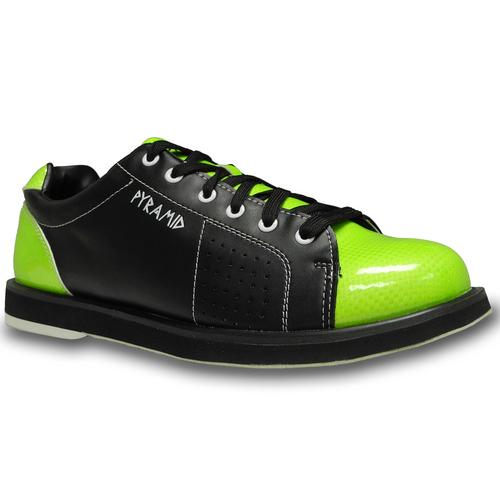 Pyramid Mens Skull Green//Black Bowling Shoes